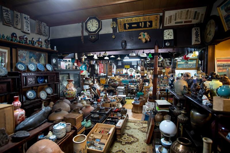 近江屋古民芸館は昭和50年に創業。
