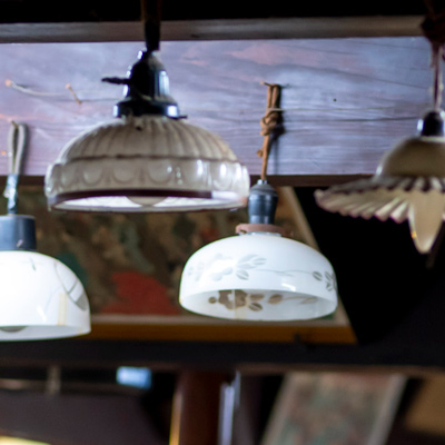 西洋アンティーク・ランプ