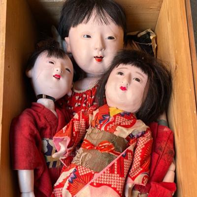 御所人形・日本人形