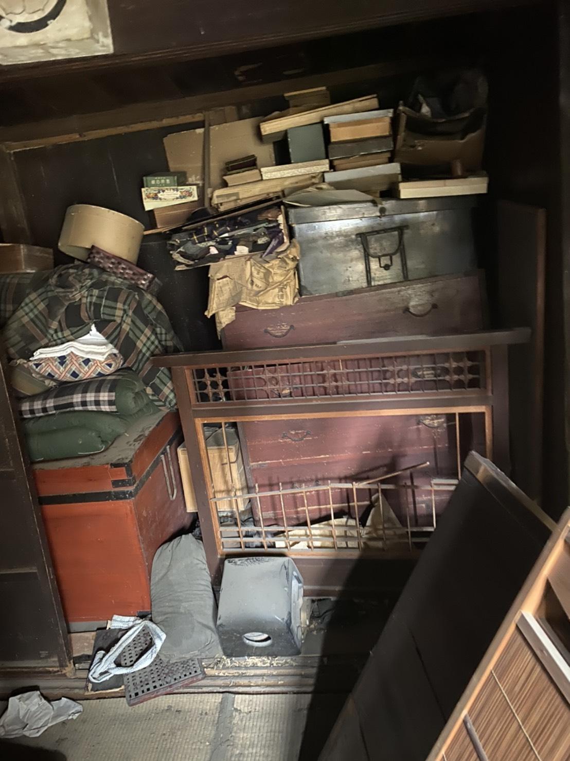 京都市 解体現場から出た不用品の買取り